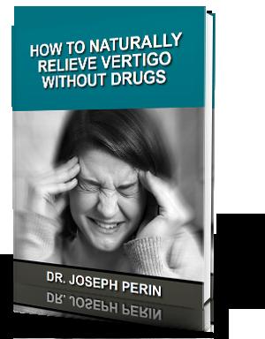 Free Vertigo Relief eBook from Dr. Joe Perin of Balanced Living Chiropractic
